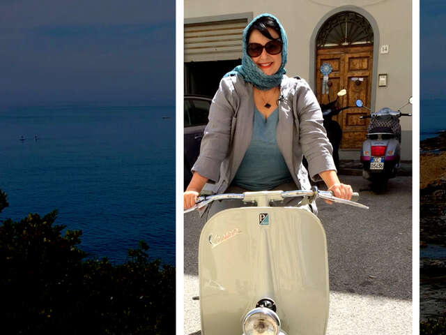Video: Vintage Vespas in Tuscany