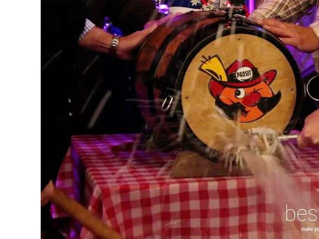 Where's the World's Second Biggest Oktoberfest?