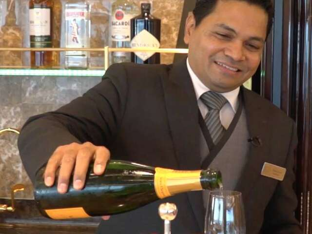 Video: A Day in the Life of a Butler on a Regent Luxury Cruise