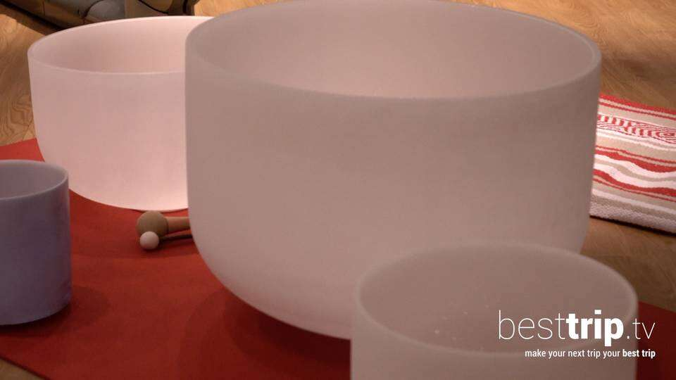 Video: Taking a 'Sound Bath' at the Seabourn Spa