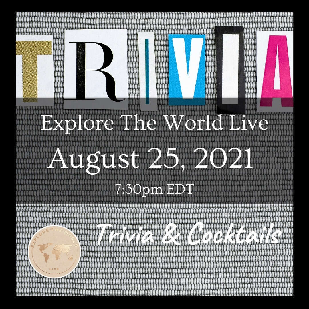 Who's up for some 'Trivia & Cocktails' this month?!