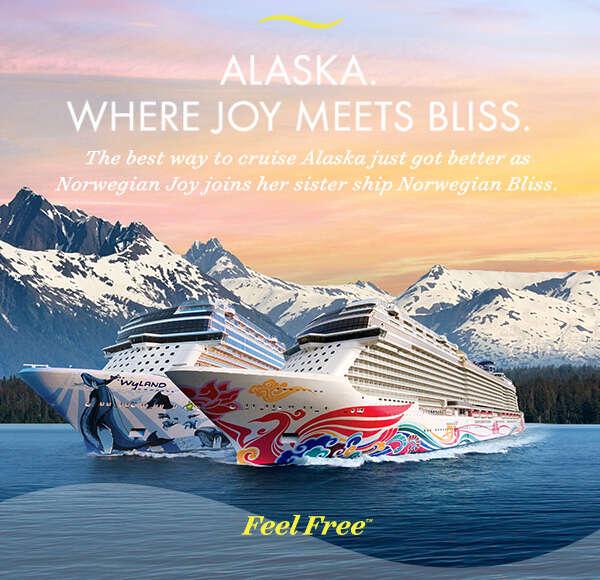 Alaska. Where joy meets bliss
