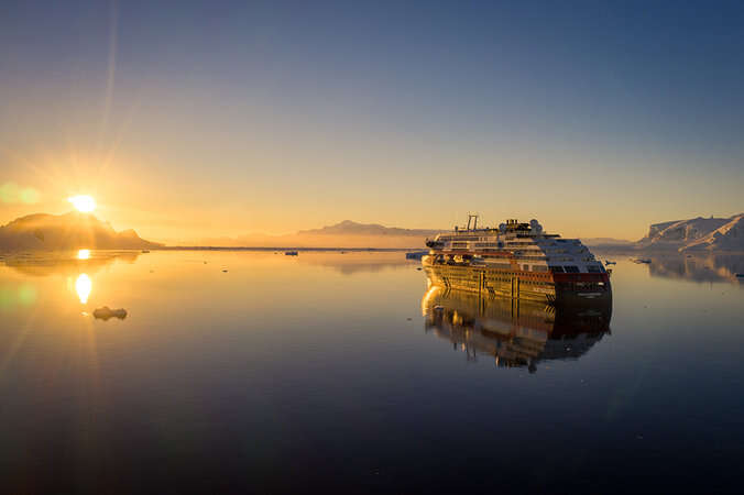 The Ultimate Expedition and Great Explorers Antarctic Solar Eclipse Cruise with Hurtigruten