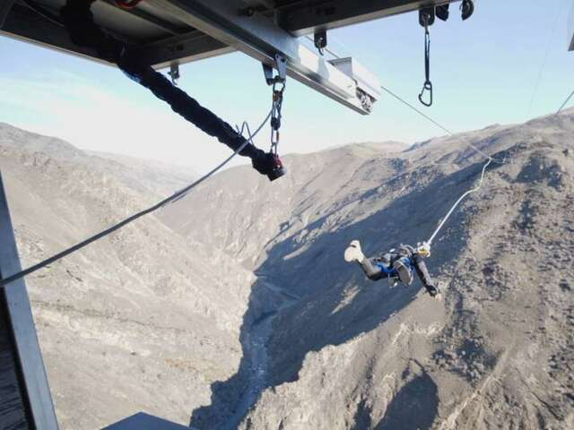 Video: Get Shot Out of This World-First Bungy Catapult in New Zealand