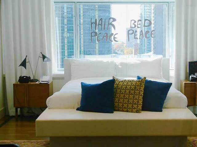 50 Years Later: John Lennon's Bed-in for Peace Hotel Suite Today