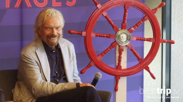 Sir Richard Branson Explains How He Does Cruising
