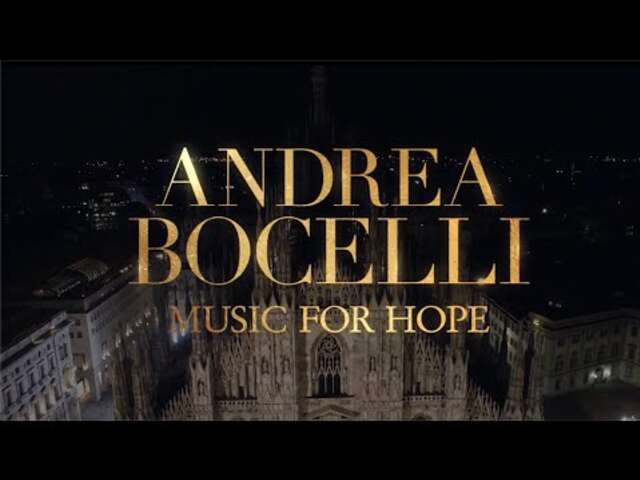 Milan's Shuttered Duomo will Ring with the Voice of an 'Angel' as Bocelli Performs Easter Concert