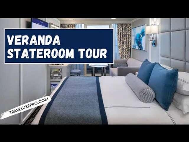 Oceania Cruises, Veranda Suite Tour, recorded December 2019