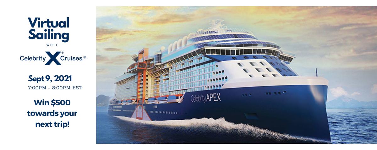 Virtual Consumer Night with Celebrity Cruises