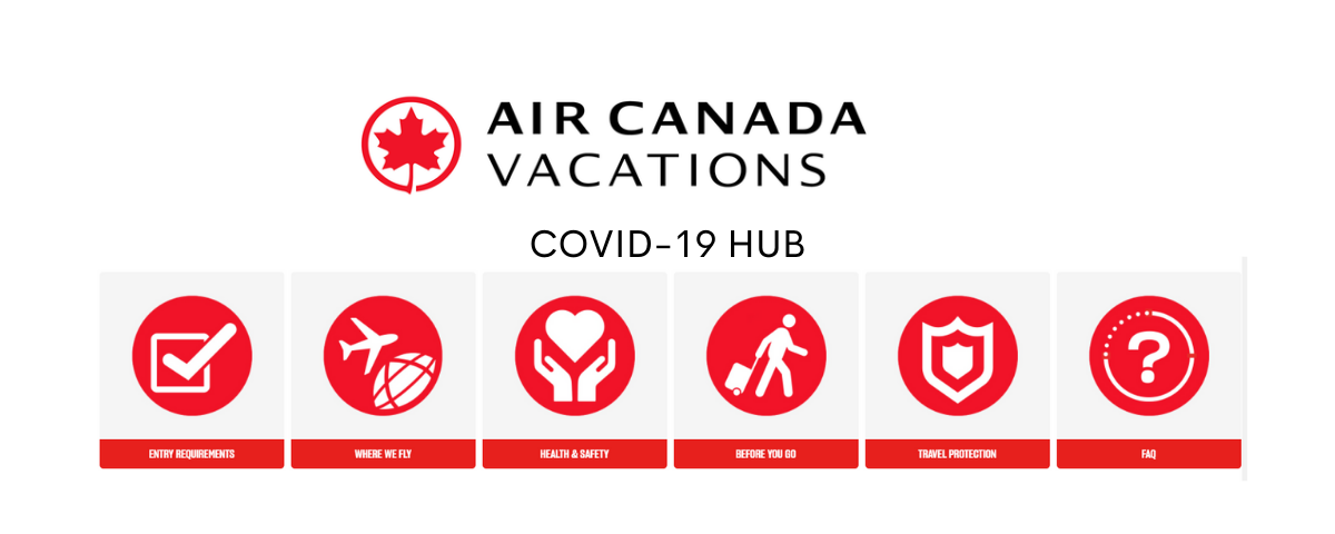 Air Canada Vacations - COVID-19 Hub