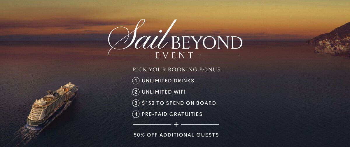 Celebrity's Sail Beyond Event