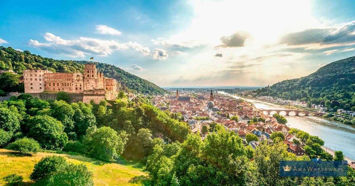 Exploring Heidelberg Castle with AmaWaterways