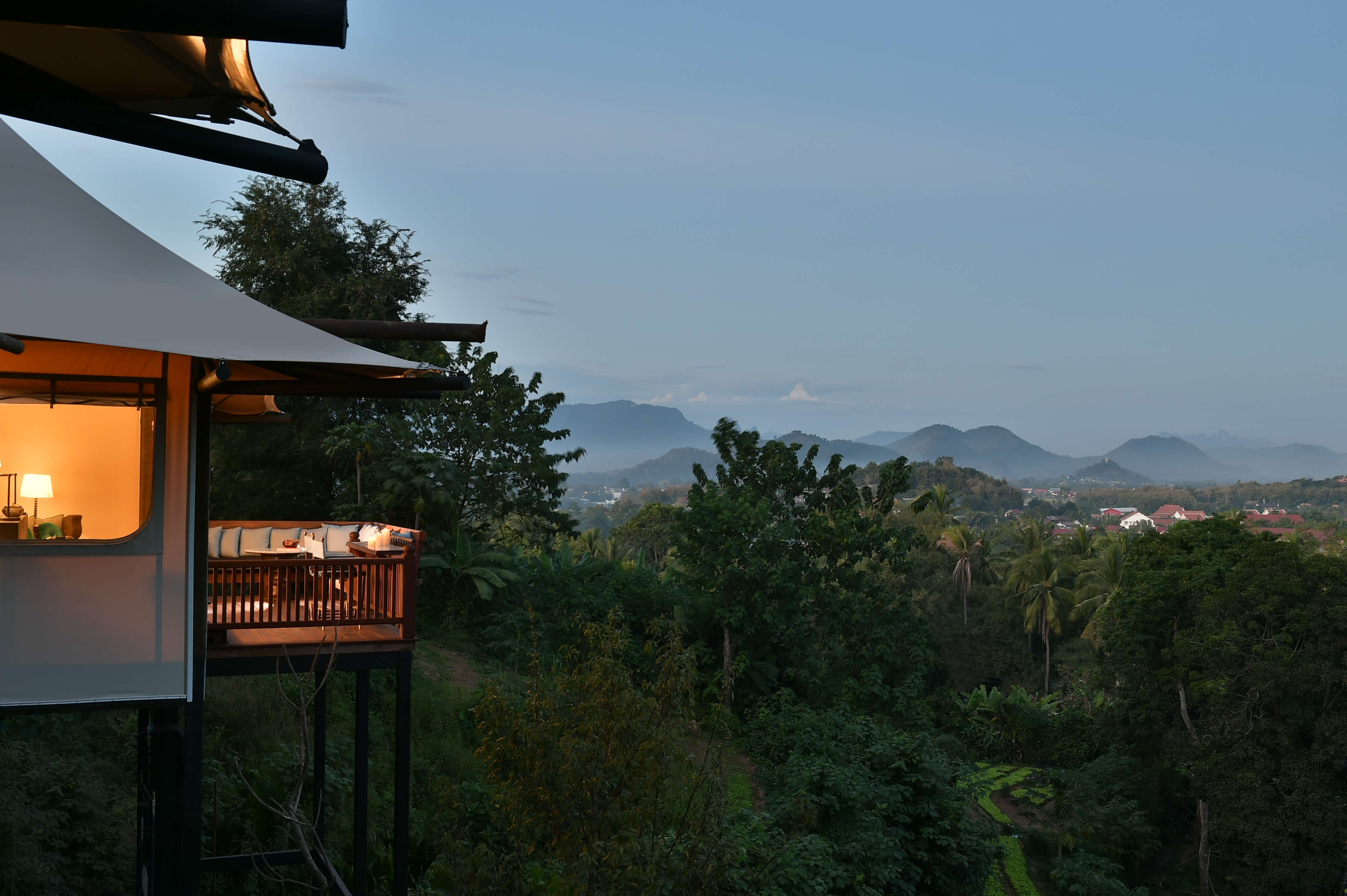 Special Introductory Offer: 'Ancient Wonders of Laos' at Rosewood's New Luxury Tented Villas