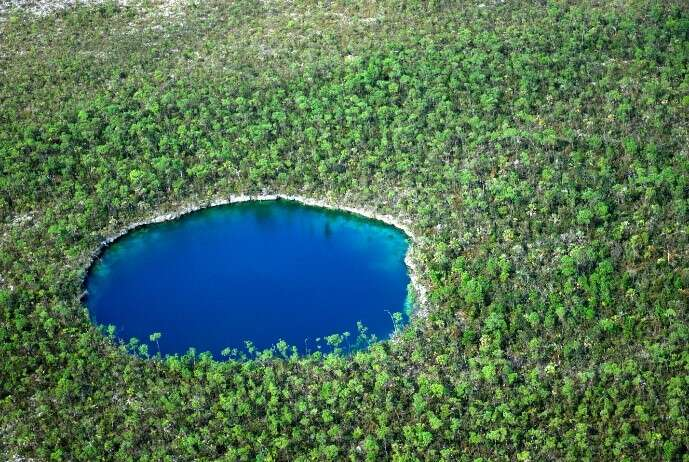 Discover the Mystical 'Blue Holes' of The Bahamas