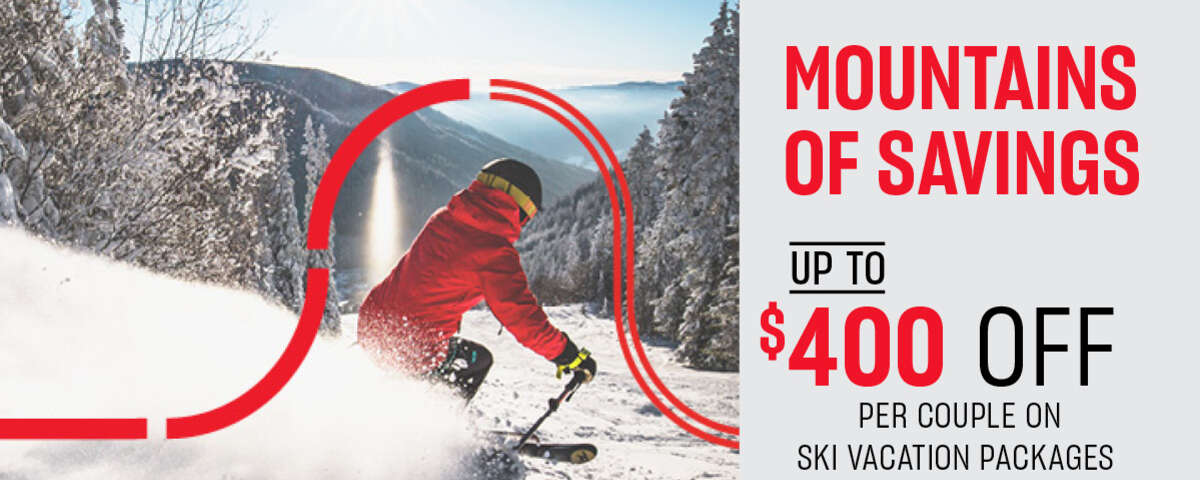 Air Canada Vacations - Mountains of Savings