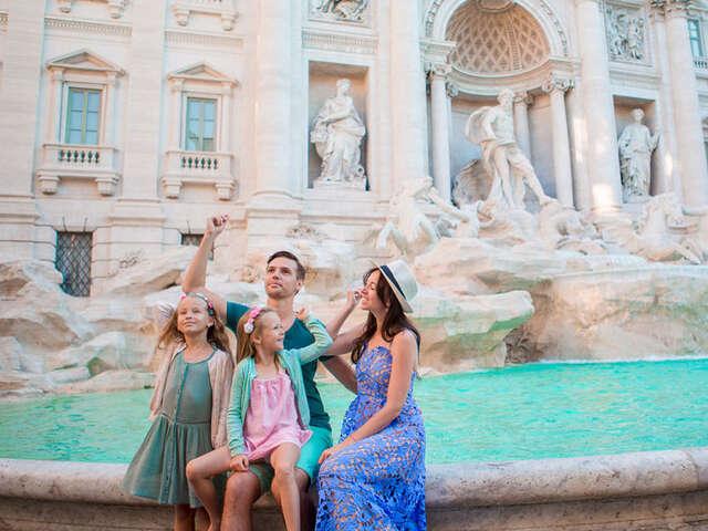 FAMILY FUN IN ROME