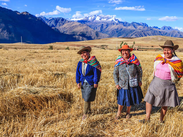 WHEN IN SACRED VALLEY