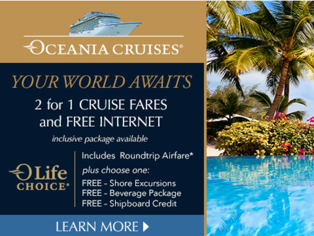 Alert: Ocean Cruises OLife Choice