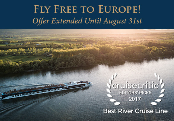 Fly Free to Europe for Your AmaWaterways River Cruise