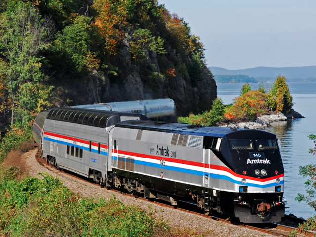 Amtrak's Only Great Dome Car Returns to the East in Time for Panoramic Autumn Colors New York to Montreal