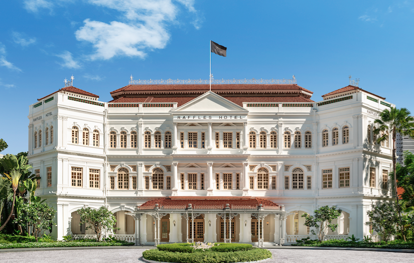 The Return of a Legend: Singapore's Raffles Hotel Re-opens