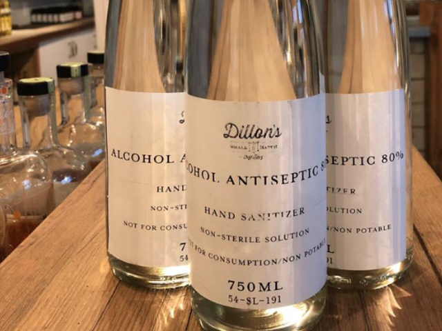 A Distiller in Wine Country Switches Production to Hand Sanitizer to Help the Community During COVID-19