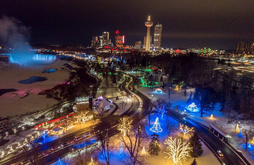 3 Million Lights for 101 Nights of Niagara Falls' Festival of Lights this Winter