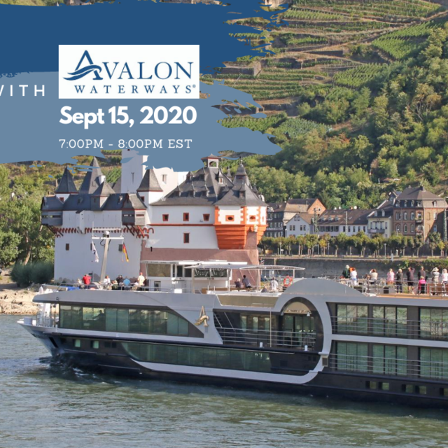 Take a Virtual Sailing with Avalon Waterways