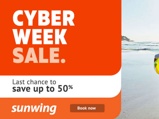 Sunwing Cyber Week Sale