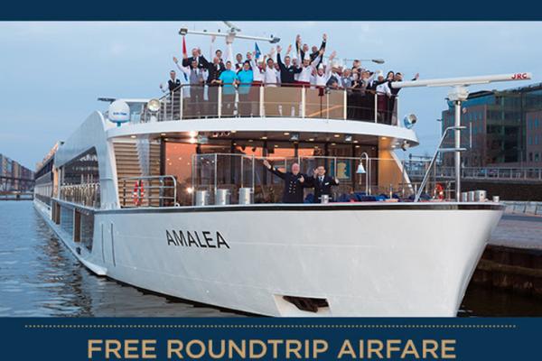 Free Roundtrip Air on Select November AmaWaterways Rhine and Danube European River Cruises