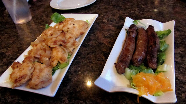 Cod tongues and moose sausages
