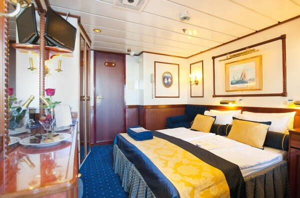 Cabin on the Star Clipper Tall Ship