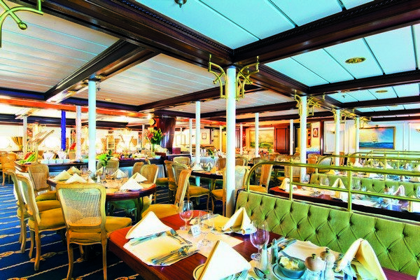 Dining Room on the Star Clipper