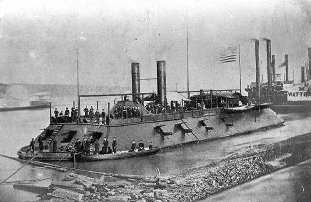 USS Cairo in 1862  National Park Service