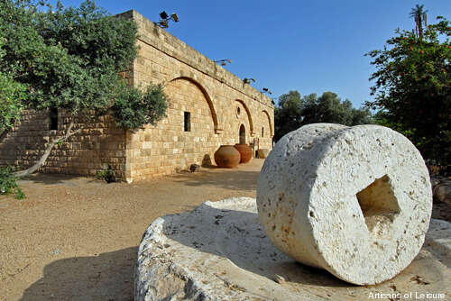 History and ethnography in an archeological setting, Eretz Israel Museum