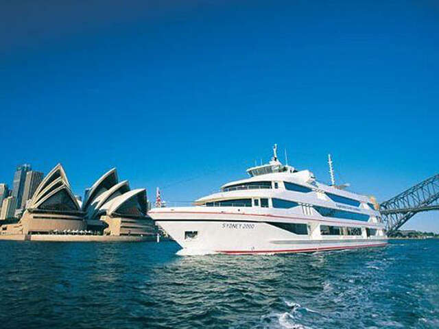 Enjoy a Premium Lunch on a Captain Cook Top Deck Lunch Cruise