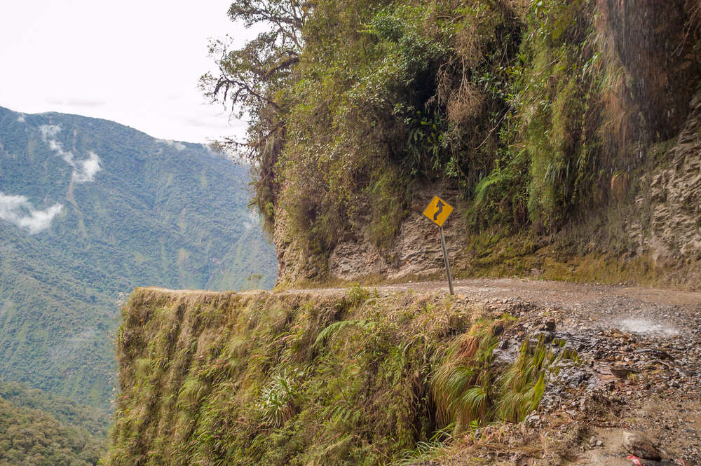 Where is the world's most dangerous road