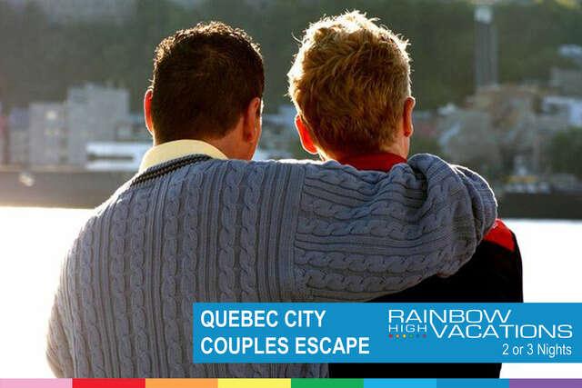 QUEBEC CITY COUPLES ESCAPE