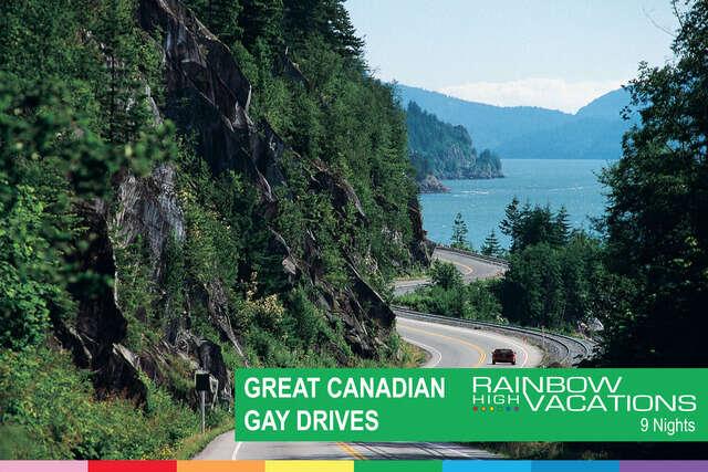 GREAT GAY DRIVE ALBERTA / BC