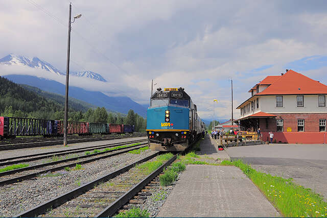 Upgrades on VIA Rail Canada