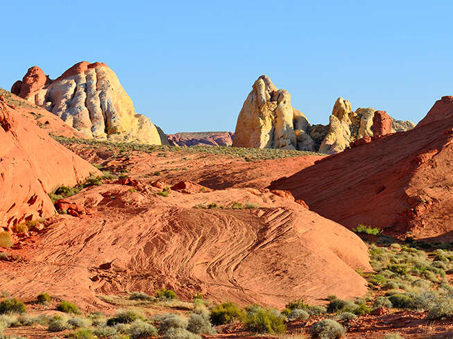 Visit the Valley of Fire, Las Vegas