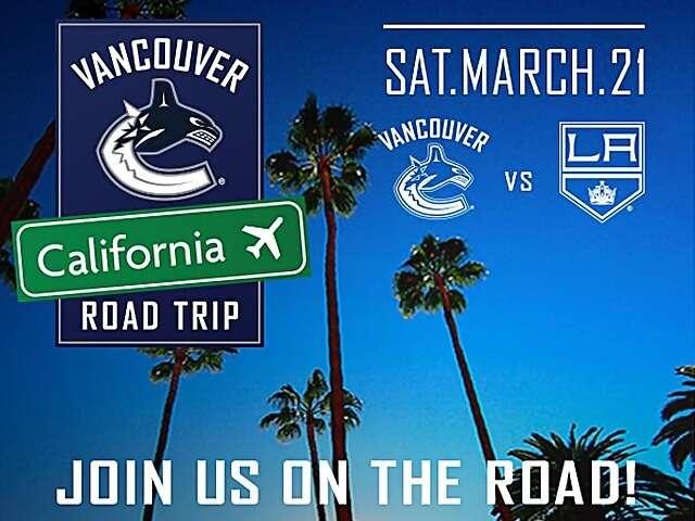Vancouver Canucks California Road Trip