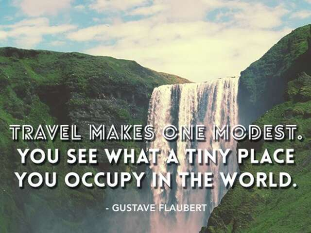Life changing quotes about travel