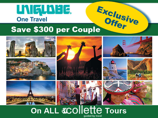 Collette Savings with UNIGLOBE One Travel
