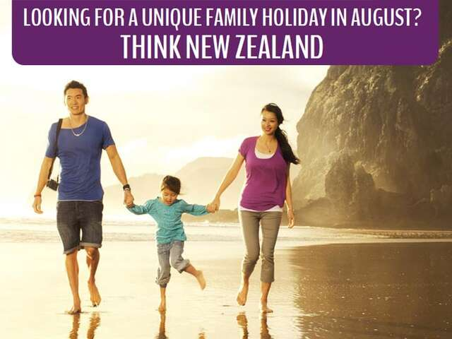 Unique Family Holiday in New Zealand