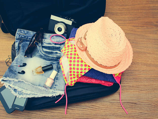 Summer Season Packing List