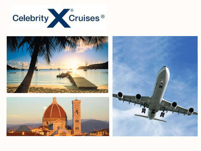 Non-Stop Flights with Celebrity Cruises
