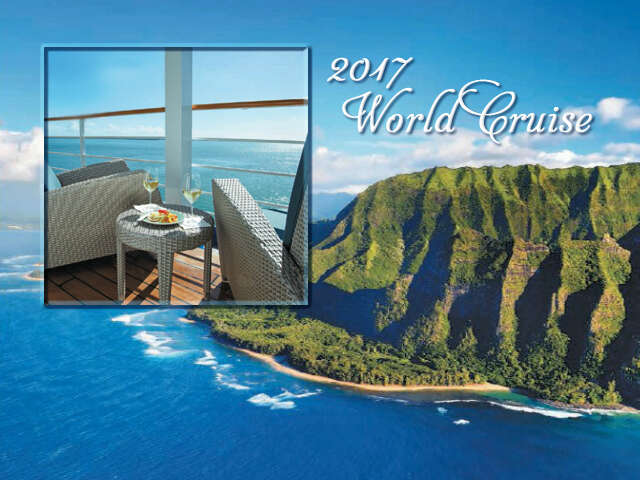 Navigate the World ... on this roundtrip 128-night Cruise