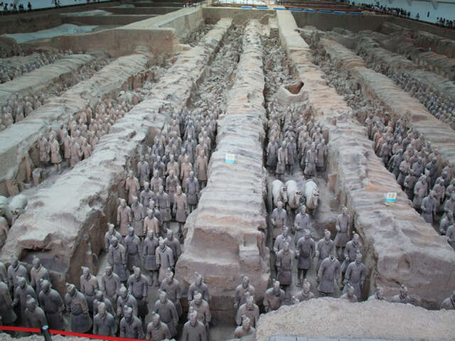O The Vanity of the Emperors of Yore; The Qin Terracotta Warriors