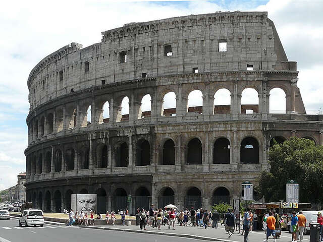 The Colosseum of Rome